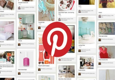 Setup or update your Pinterest account and create boards, pins