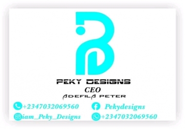 Design a attractive logo for your personal needs