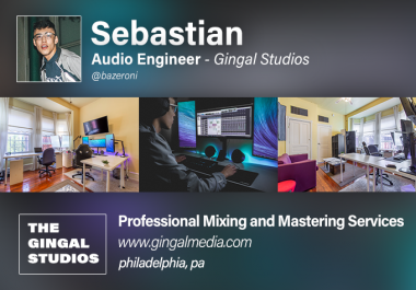 Professionally Mix, Master, and Vocal Tune Your Song