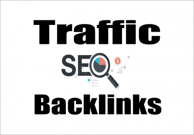 provide 1,800 high authority white hat backlinks And 100,000 Web Traffic boost keyword rankings