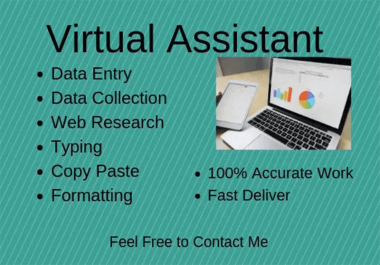 be your Data Entry expert,web research,excel entry
