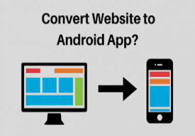 convert your website into cool responsive android app