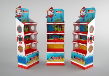 Do 3d Product Display POP, POSM & Packaging
