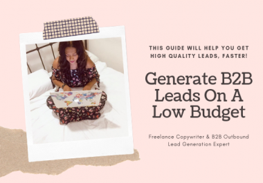 send you a 5 step guide on how to get more b2b clients