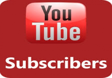 Give You 100+ YouTube Subscribers 100% Non Drop Guaranteed & High Quality