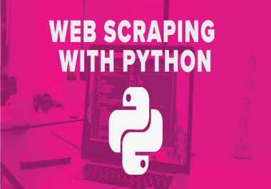 develop a webscraper in python