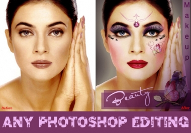 do any PHOTOSHOP editing within 24 hr for
