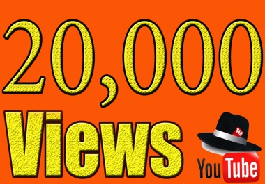 add 20,000 YouTube Views