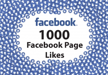 Add 1,000 Real Facebook fan Page Likes