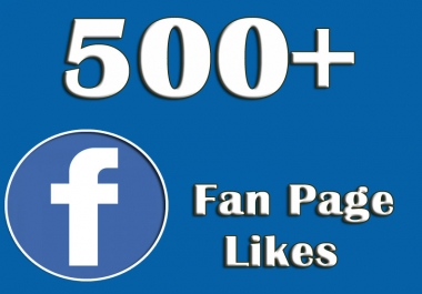 Add 500+ Real Facebook Likes and 500+followers
