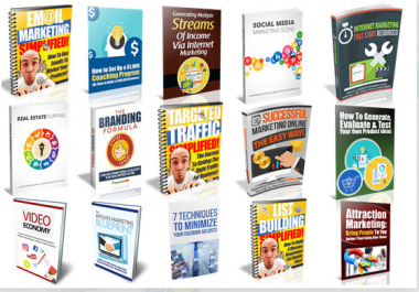 send you 50 quality business and marketing ebook