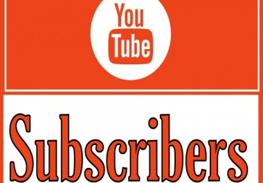 give you 600+ real youtube subscribers