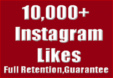 give you 8,000+ Instagram likes