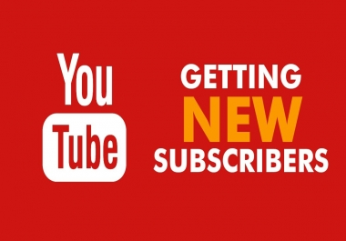Deliver you 100+ Organic YouTube subscribers