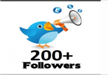 Add 250+ Permanent Twitter Followers