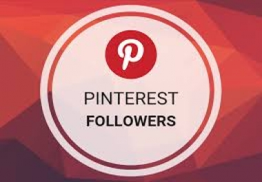 Add 5000+ Pinterest Followers High Quality and Non Drop