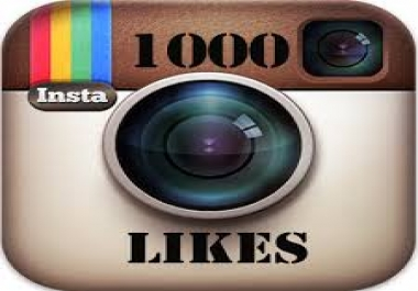 give you 1,000 Instagram likes