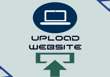 upload your website to your domain, hosting, vpn in 2 hours