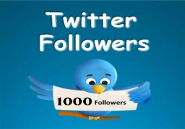 Add 1000+ Permanent Twitter Followers