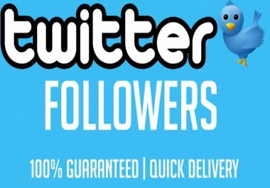 provide 1500+ Twitter Followers at best speed