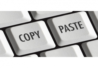 Online Article Copy Paste Jobs
