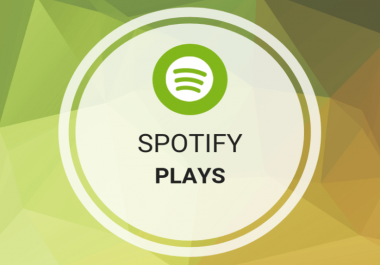 deliver 4000 Spotify Plays Real Active and Non-drop Guaranteed