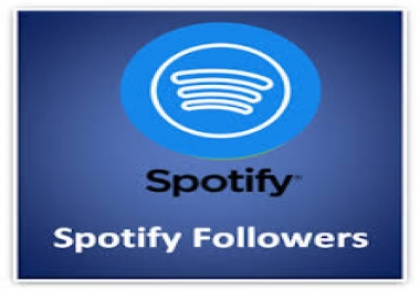 provide 7000+ Spotify Followers