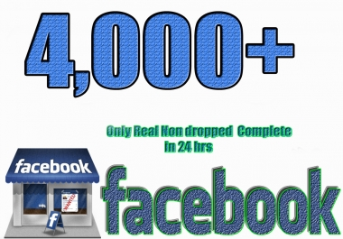 Add 4,000+ Real Facebook Likes
