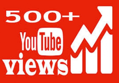 Give you 500 YouTube Views