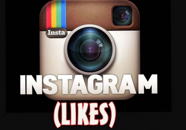 Get Instant 5000+ Instagram likes real & Active secure and guaranteed quality services