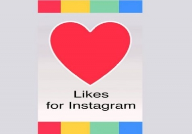 Get Instant 10000+ Instagram likes real & Active secure and guaranteed quality services