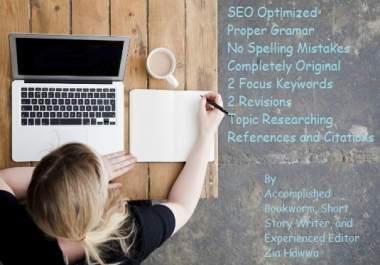 write engaging Articles and Blog Posts for you