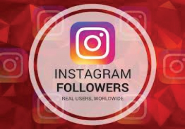 ADD 500+ INSTAGRAM FOLLOWERS ORGANIC REAL ACTIVE AND NON DROP GUARANTEED