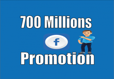 Promote your Any Link To 700 Facebook Millions Active Groups Members