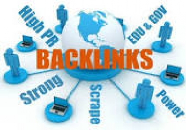Create 1,000+High PR Backlinks For your Sites with Proofs
