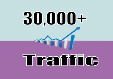 send you real 30,000+ website traffic visitors from worldwide