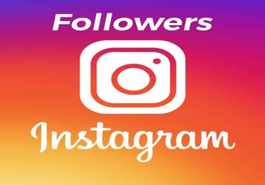 Add 500+ Instagram Followers real active and nom drop Guaranteed
