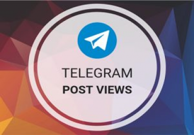 Add 2000 Real High-Quality Telegram Post views Lifetime Guaranteed