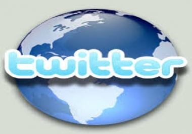 Give You 200+ Real and Organic Twitter Followers