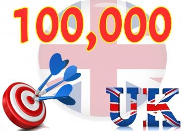 Give you 100,000 UK Website Traffic