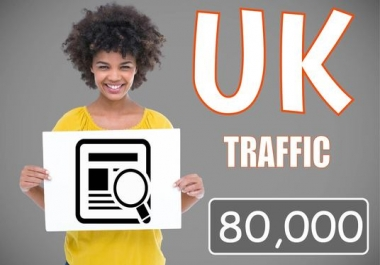 Drive 80,000 Traffic From UK