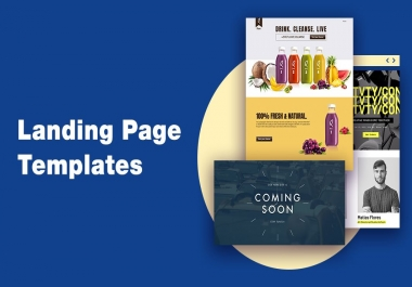 Provide a professional squeeze page template for 5 dollar