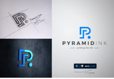 design a modern logo and branding package