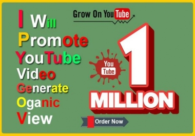 promote your youtube video generate views organically