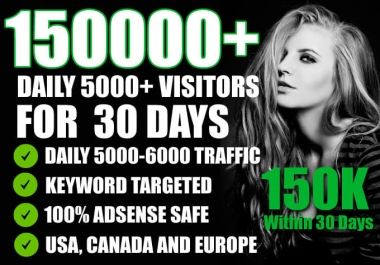 Get unlimited potential visitors traffic for 15 days