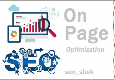 do On Page SEO complete for site