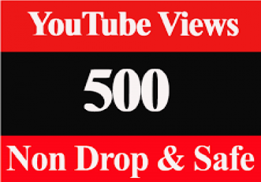provide 500+ YouTube views