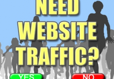 Give you 35,000 Guaranteed USA Visitors to your site with proofs