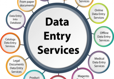 do data entry, web research, virtual assistant