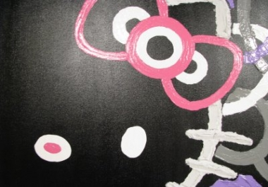 paint Hello Kitty for you